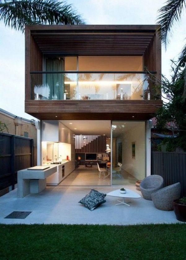 Оформление дизайн двора частного дома, фото 3