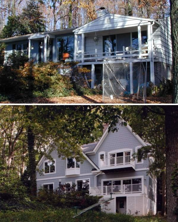 Как сделать второй этаж в частном доме - фото до и после