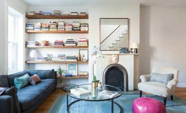 Как обставить зал в частном доме - сочетание стилей в интерьере