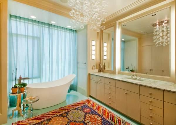 Красивые ванные комнаты - частные дома реальные фото