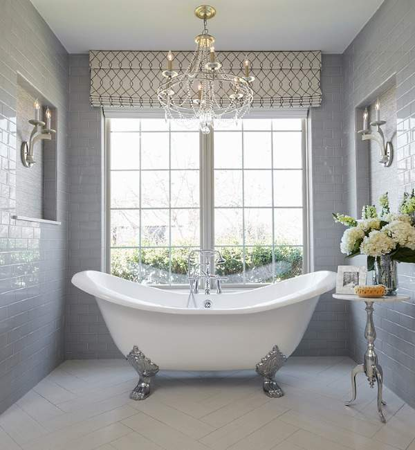 Самые красивые ванные комнаты в классическом стиле