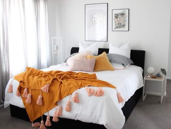 Дизайн интерьера 2017 - фото новинки для спальни