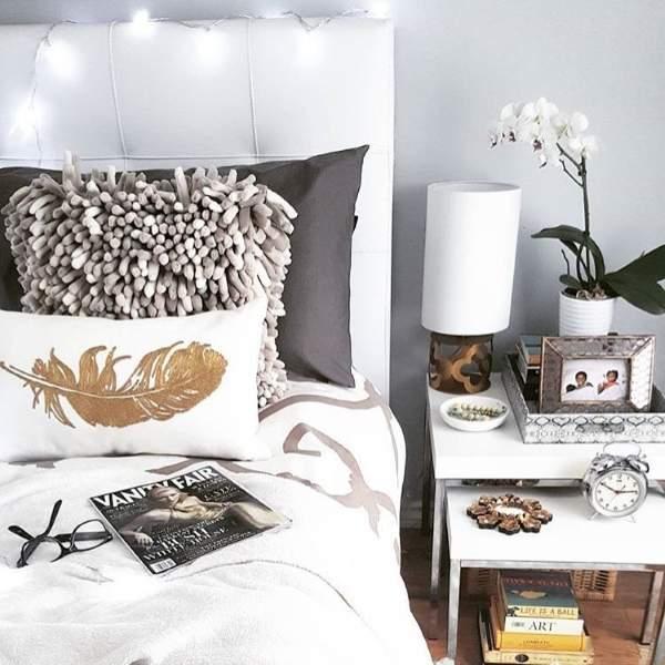 Модный дизайн интерьера спальни 2017