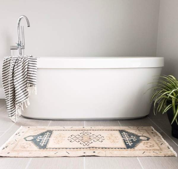 Новые тенденции в дизайне интерьера 2017 - этнические мотивы в ванной
