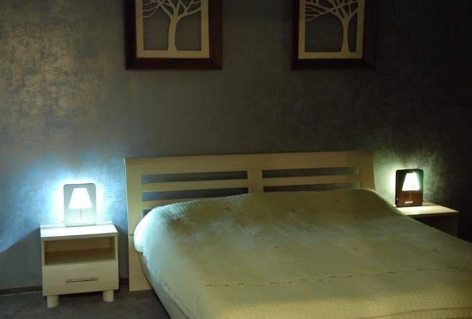 Hi-Tech светодиодный светильник Madera 007 - фото в интерьере