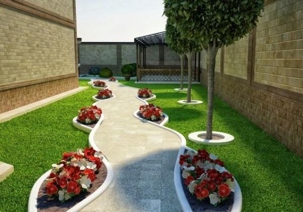 Дизайн двора частного дома своими руками, фото 2