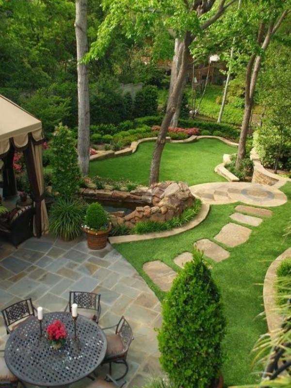 Дизайн двора частного дома своими руками, фото 3