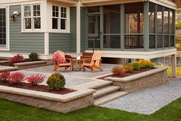 Дизайн двора частного дома своими руками, фото 4