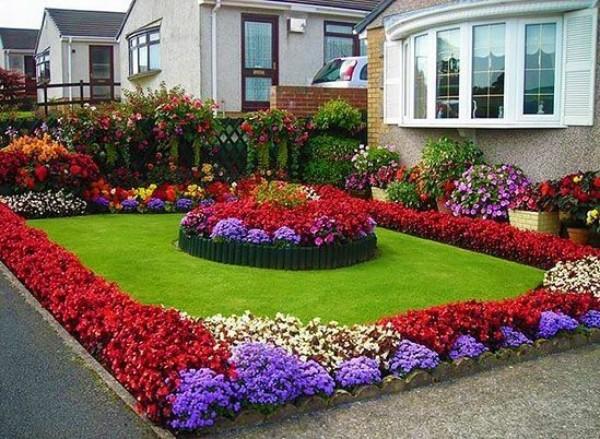 Дизайн двора частного дома своими руками, фото 5