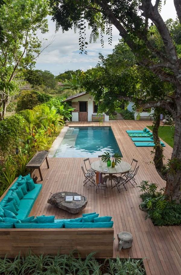 Красивый дизайн двора, фото 15