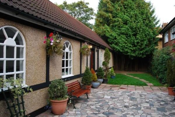 Дизайн двора частного дома своими руками, фото 1