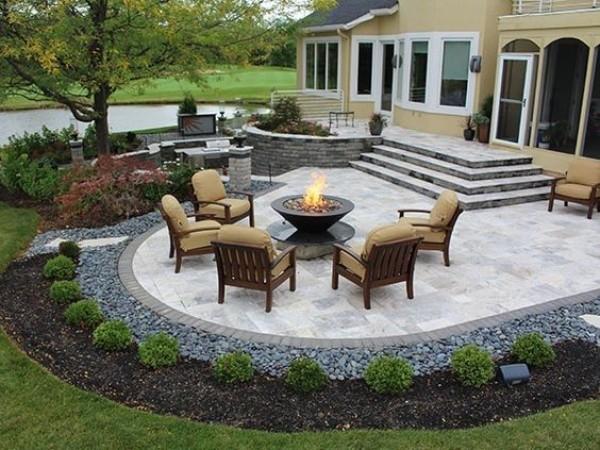 Красивый дизайн двора, фото 13