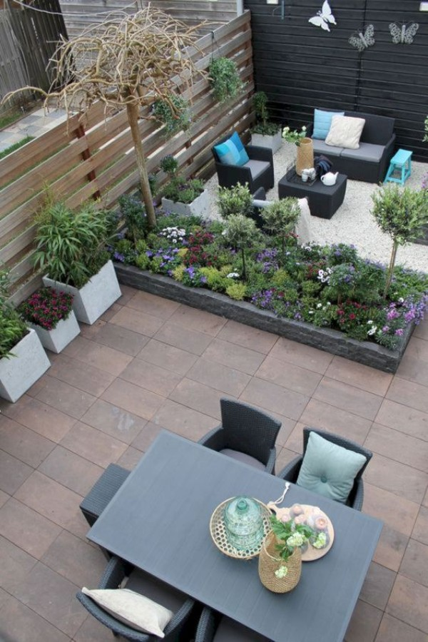 Красивый дизайн двора, фото 14