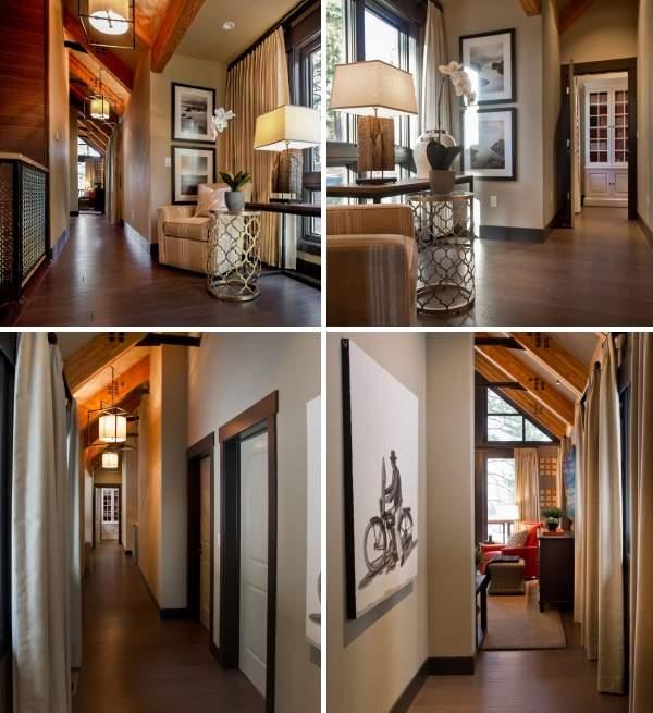 Второй этаж в частном доме: варианты планировки и дизайна (34 фото)
