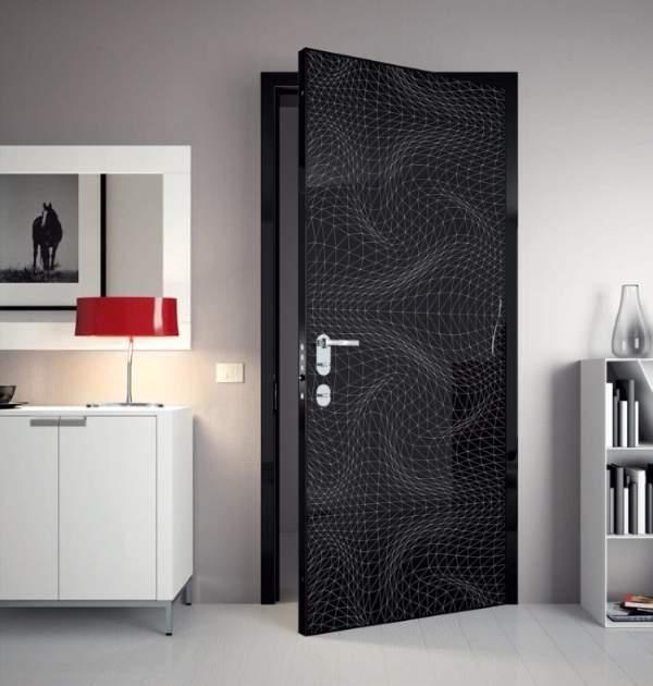 Современные двери для кухни - фото лучших моделей в интерьере
