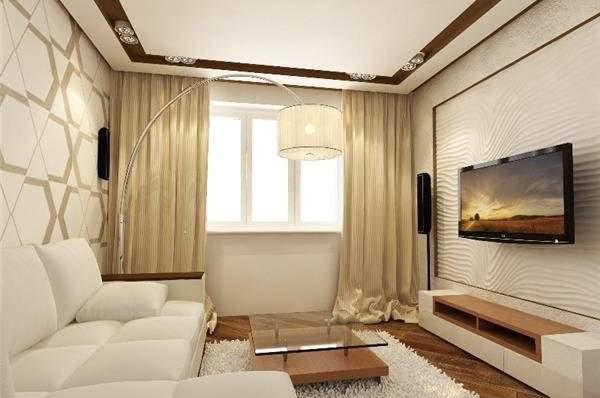Интерьер гостиной в элегантных и роскошных тонах
