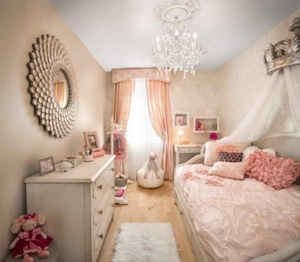 В каких цветах оформить детскую комнату девочки