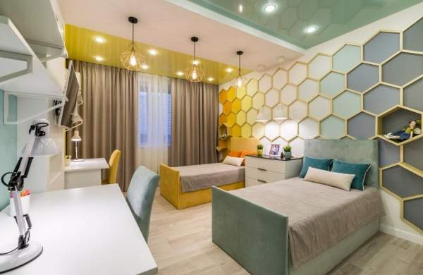 цвета в интерьере детской комнаты 9 красивых сочетаний с фото