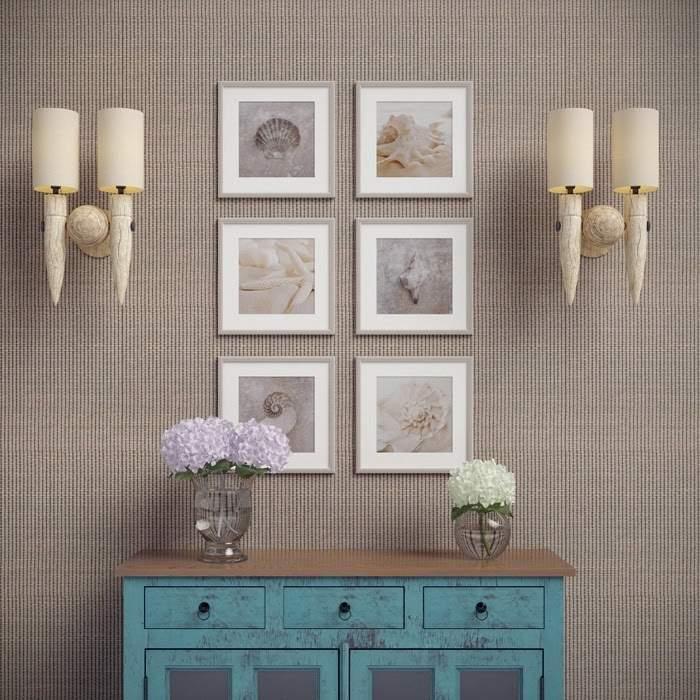 Декор стен картинами в рамках своими руками