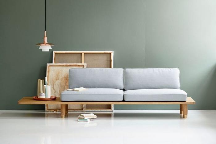 Как сделать диван своими руками просто и стильно
