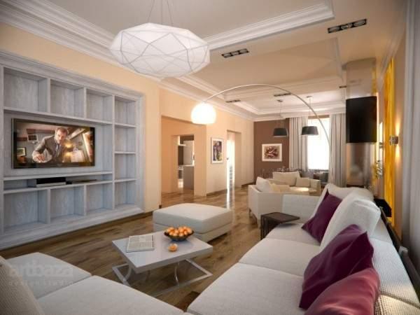 Дизайн панельной двухкомнатной квартиры студии