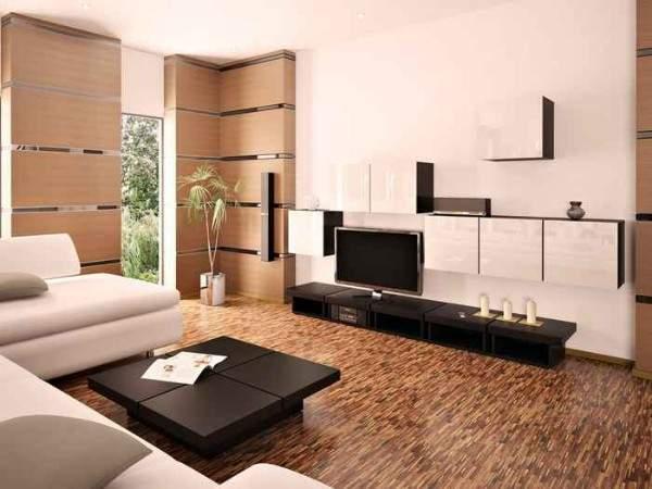 Дизайн интерьера двухкомнатной квартиры в стиле минимализм - фото подборка