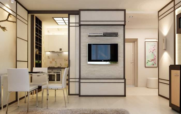 Современный дизайн двухкомнатной квартиры для семьи с ребенком – подборка 22 фото