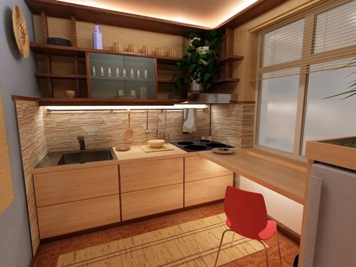Как красиво оформить дизайн 1 комнатной квартиры хрущевки