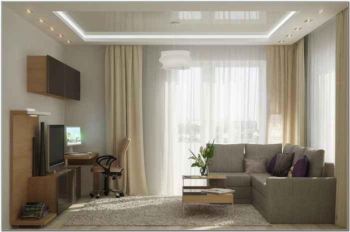 Минималистский дизайн интерьера однокомнатной квартиры хрущевки