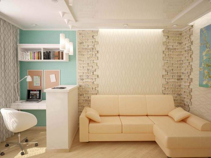 дизайн 1-комнатной квартиры в хрущевке фото