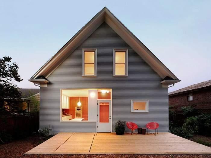 Дизайн фасадов домов с облицовкой сайдингом