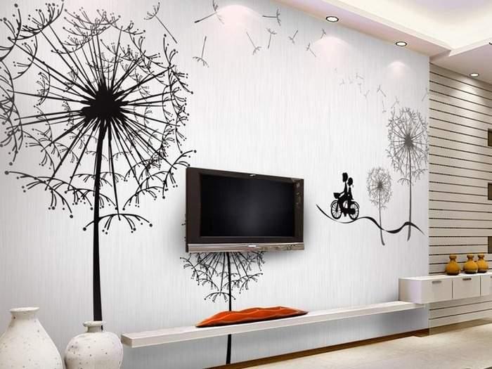 Декор стен своими руками - оригинальные идеи с фото в интерьере