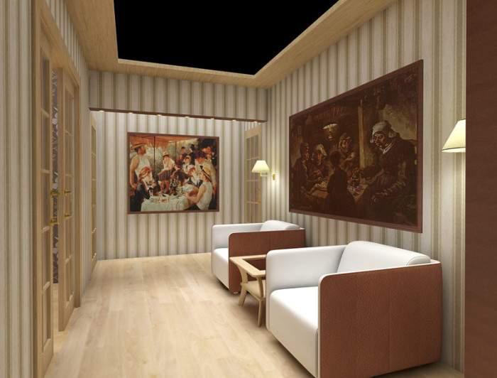 Уютный интерьер частного дома - фото дизайна прихожей