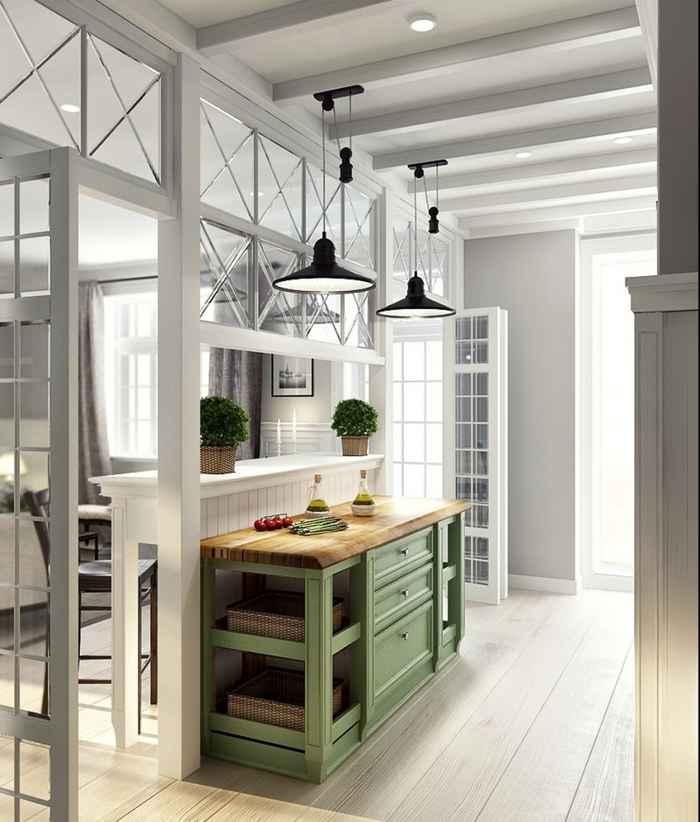 Современный интерьер и дизайн прихожей в частном доме
