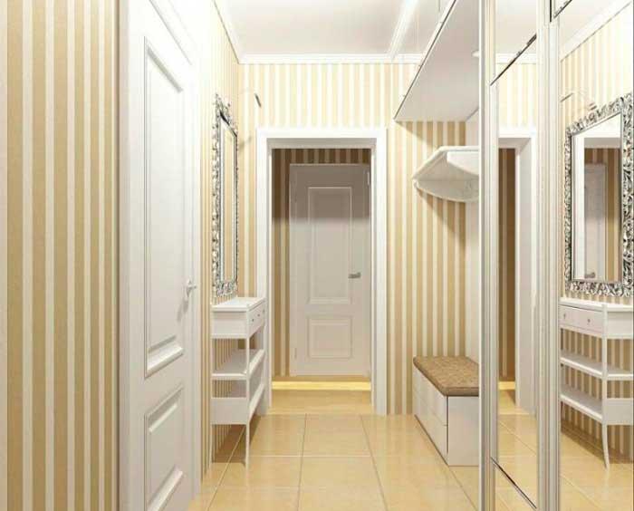 Дизайн интерьера маленькой прихожей в частном доме