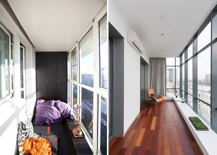 Панорамные окна в дизайне жилища - 26 фото разных комнат.