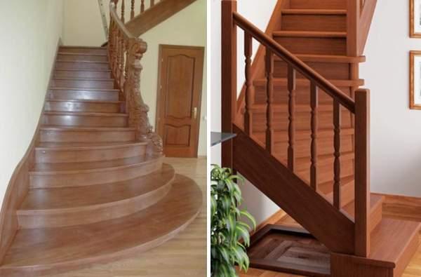 Какие бывают деревянные лестницы в частном доме - фото в разных стилях