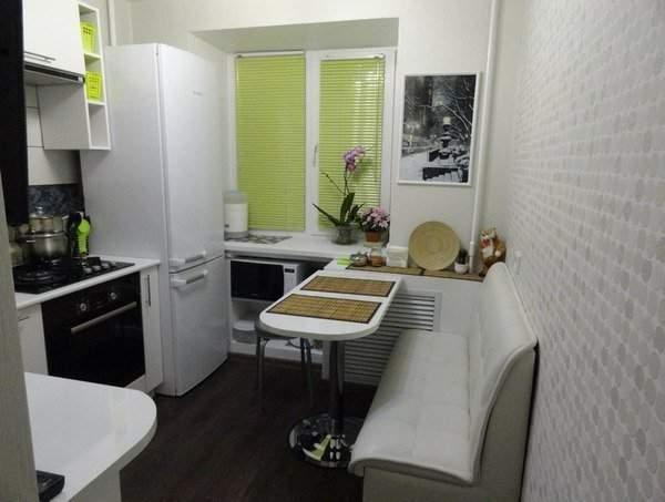 Дизайн маленьких комнат в квартире: кухня с барной стойкой вместо стола
