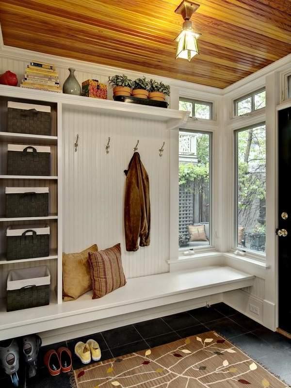 Дизайн маленькой прихожей в частном доме: советы с фото