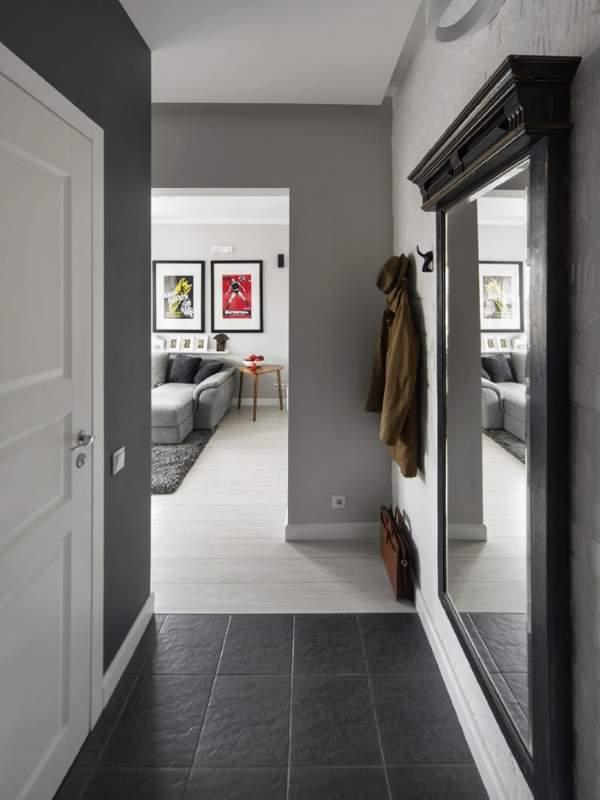 Дизайн маленькой квартиры 30 кв м - фото интерьера прихожей