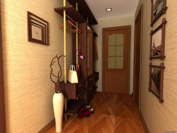 Современный дизайн маленьких комнат в квартире - прихожая и коридор