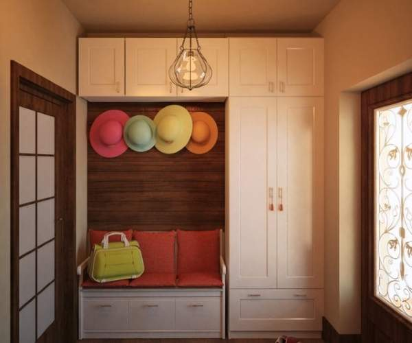 Дизайн маленькой прихожей в частном доме - идеи оформления 2017