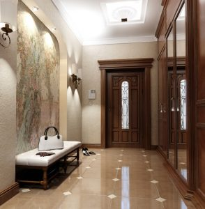 прихожая и коридор в доме дизайн фото