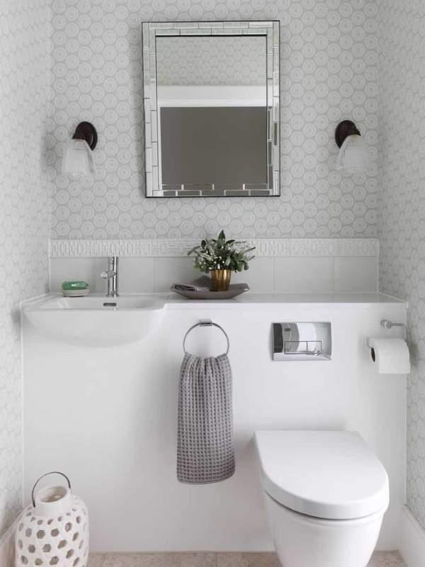 Как оформить интерьер туалета без ванны