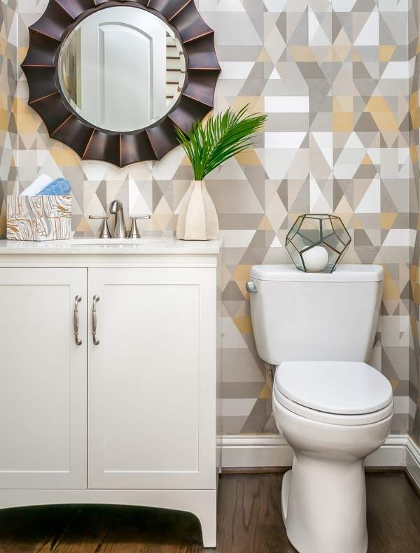 Дизайн туалета без ванны - фото унитаза и раковины с тумбой