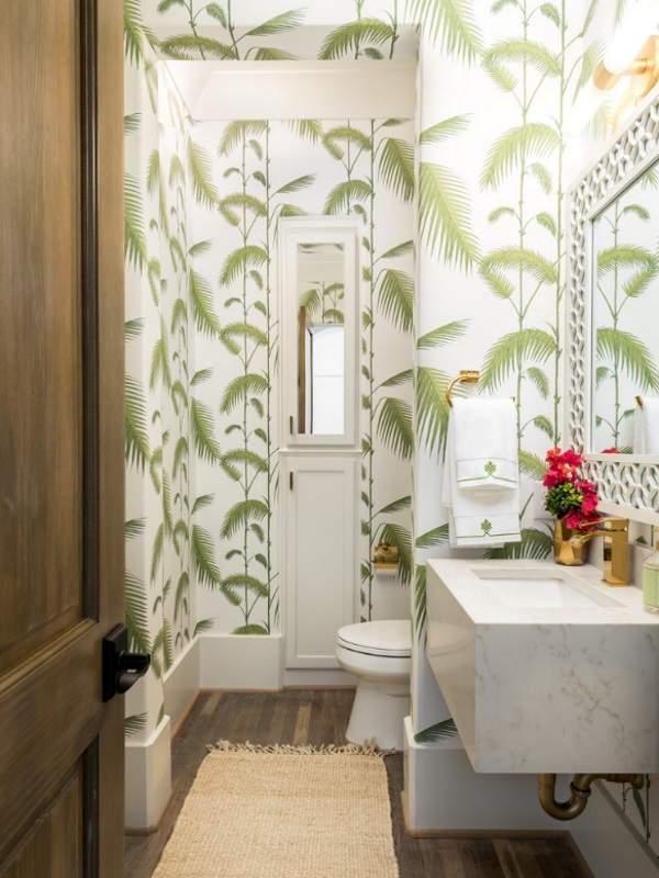 Красивый дизайн туалета - фото современные идеи 2017 обои