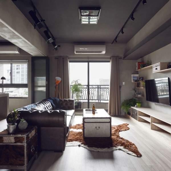 Квартира студия-необычный дизайн фото