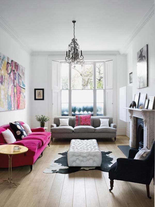 Как оформить интерьер маленькой гостиной в частном доме - современные идеи 2017