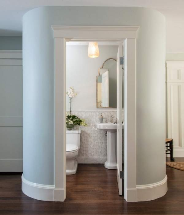 Необычный дизайн туалета - фото оригинальных идей 2017 года