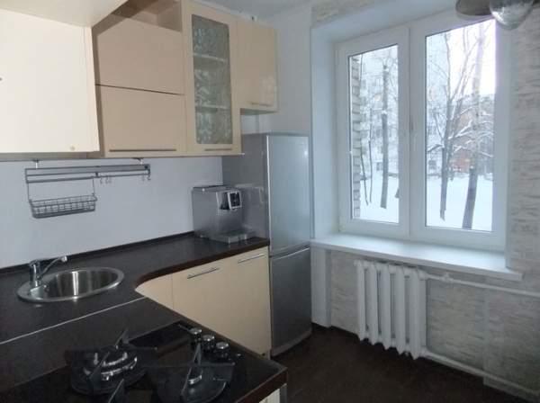 Дизайн маленьких квартир хрущевок - небольшая кухня 5 кв м